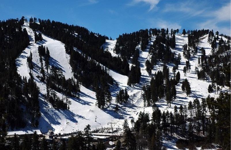 Salt Lake Valley Dodge >> California Ski Maps | Mountain High Ski Resort Trail Map